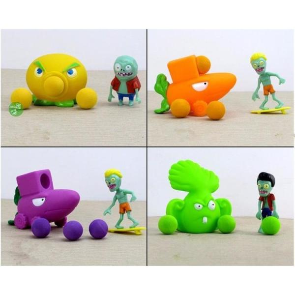 Figurines Plantes vs Zombies