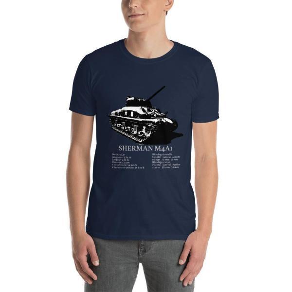 T-Shirt Sherman M4A1