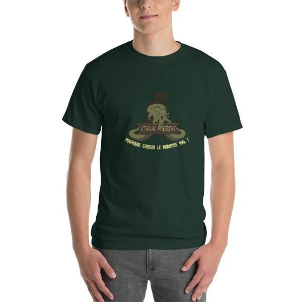 T-Shirt Cthulhu président !