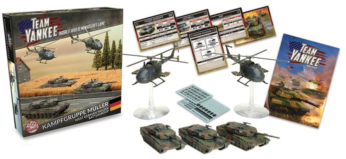 Kampfgruppe Müller - contenu de la boîte