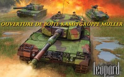 Team Yankee – Ouverture de boîte Kampfgruppe Müller