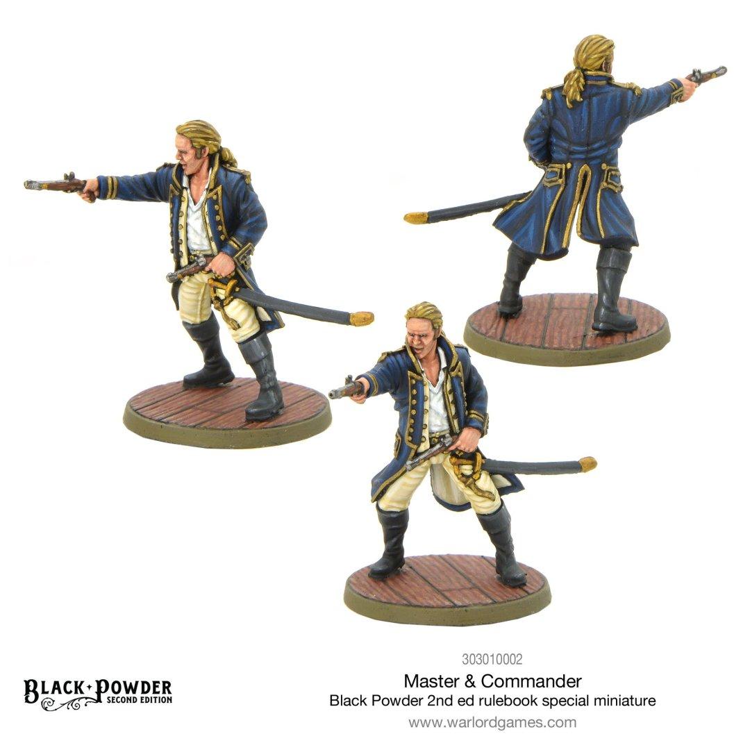 Figurine spéciale Master and Commander