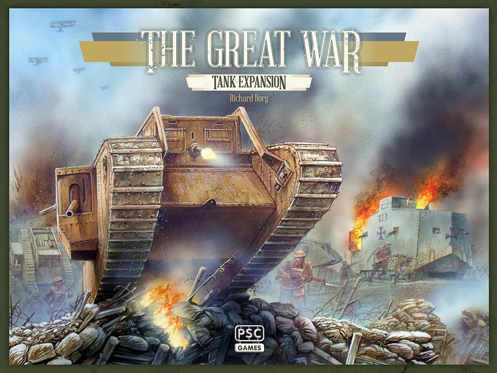 Boîte La Grande Guerre Extension Tanks