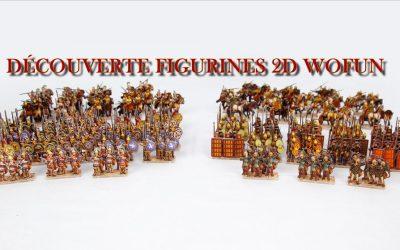 Les figurines 2D de Wofun Games
