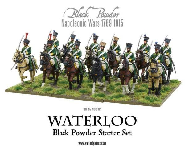 Waterloo - Black Powder 2nd edition Starter Set
