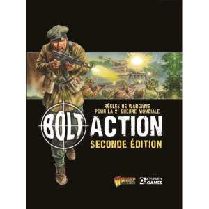 Bolt Action - Livre de règles 2de édition - Français