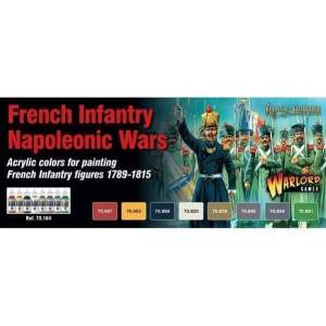 French Napoleonic Paint Set