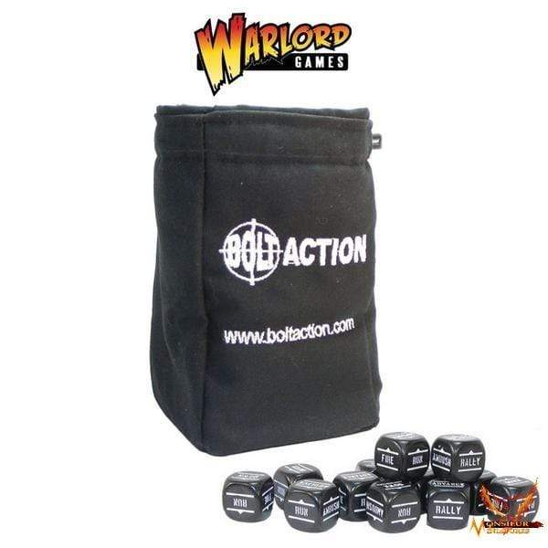 Bolt Action Dice Bag & Dice