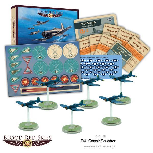 Blood Red Skies - F4U Corsair Squadron