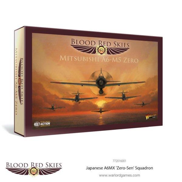 Blood Red Skies - Japanese A6MX 'Zero-Sen' 6 Plane Squadron