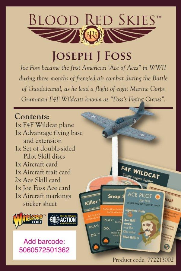 Blood Red Skies - Joseph J Foss Wildcat Ace