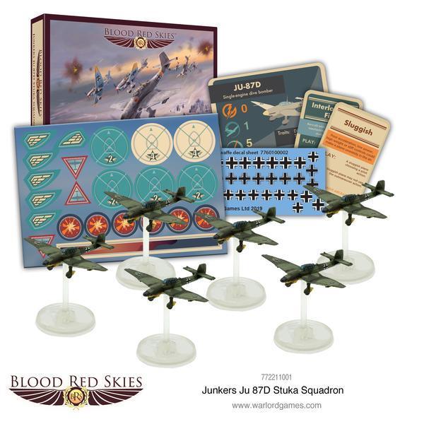 Blood Red Skies - Ju 87D Stuka squadron