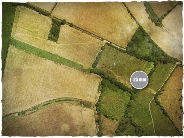 Game mat - Aerial Fields - Mousepad 120x180