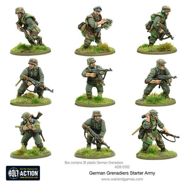 Bolt Action - German Grenadiers Starter Army