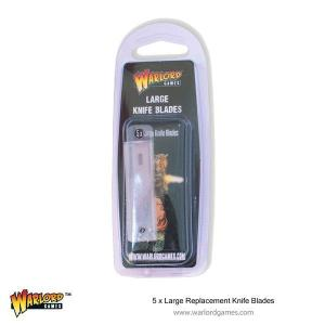 Large Replacement Knife Blades x 5