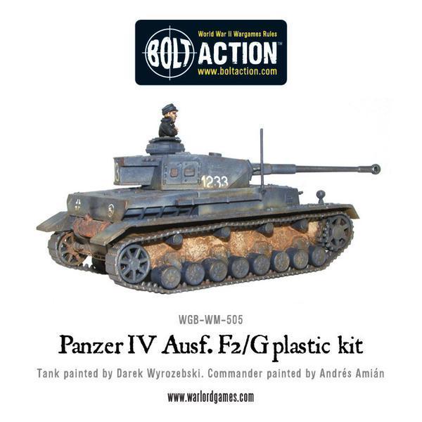 Bolt Action - Panzer IV Ausf. F1/G/H Medium Tank