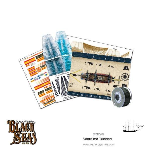 Black Seas - Santisima Trinidad