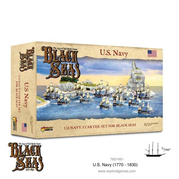 Black Seas - U.S. Navy Fleet (1770 - 1830)