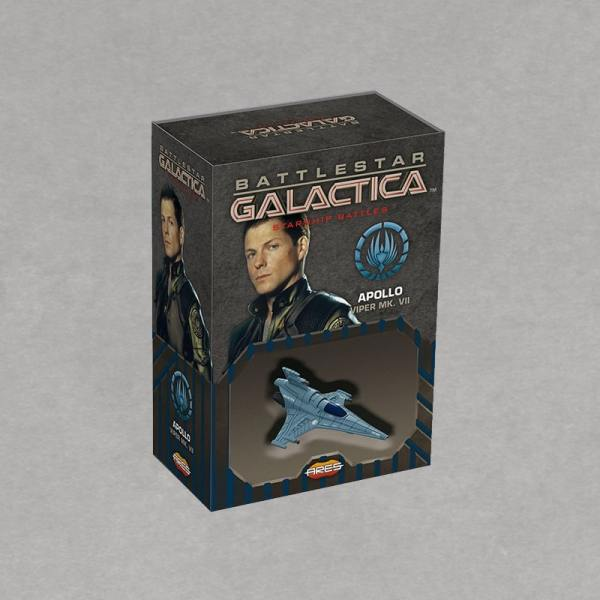 Battlestar Galactica Starship Battles - Spaceship Pack: Viper Mark VII Apollo