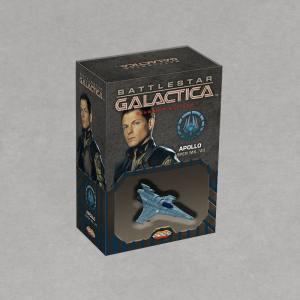 Battlestar Galactica Starship Battles - Spaceship Pack: Viper Mark VII Apollo