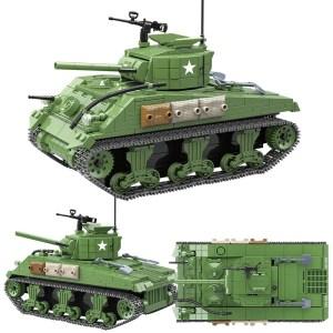 Sherman M4A1 - 726 pièces