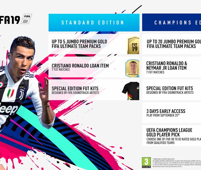 Pre Order Fifa  At Monster Shop On Playstation  Xbox One And Nintendo Switch