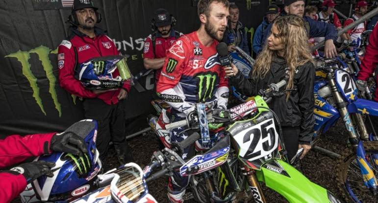 Eli Tomac at the 2018 Motocross of Nations