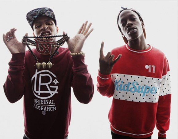The Underachievers - AK (left) and ISSA DASH (right)