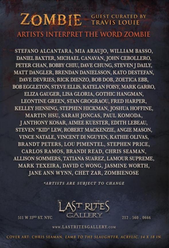 Zombie contributors list