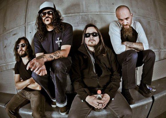 Kyuss Lives! [L-R] - Fevery, Bjork, Garcia, and Oliveri