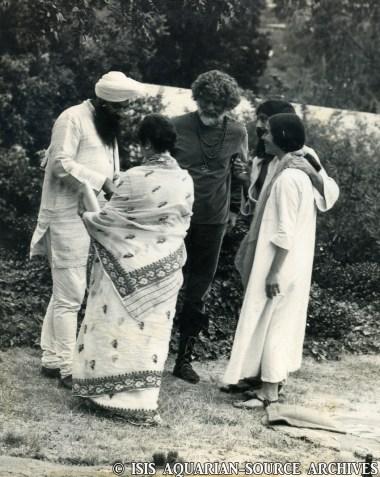 Jim Baker with Yogi Bhajan