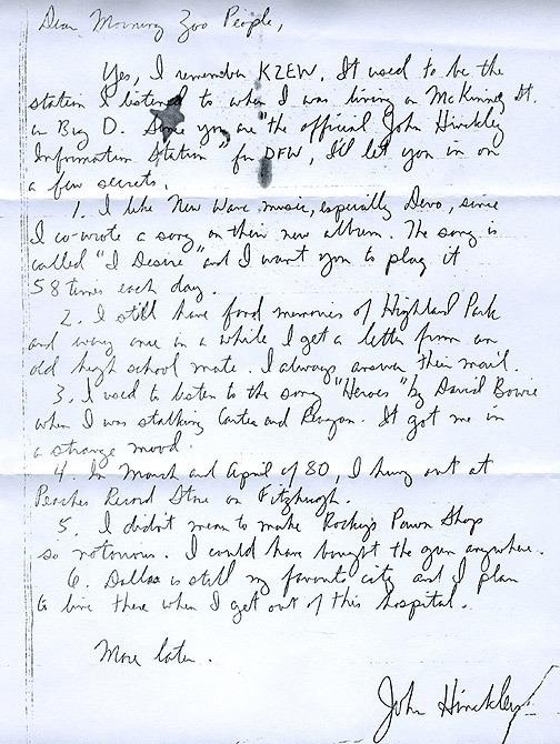 hinkley devo letter