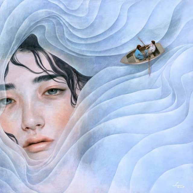 "Tran Nguyen ""The Lilac Lady"""