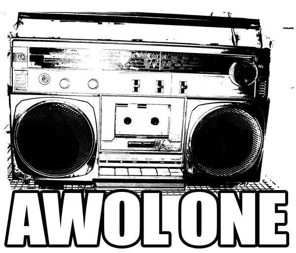 awol one boombox logo