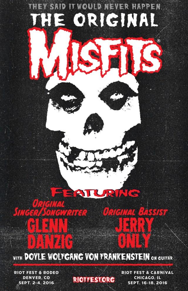 misfits flyer