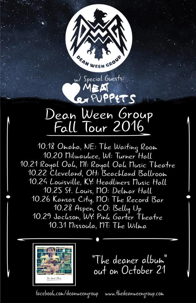deaner tour poster