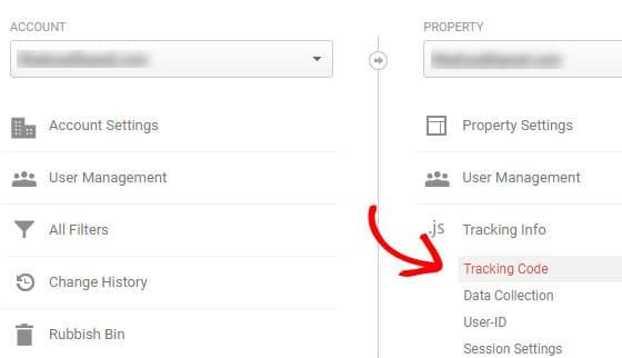 get google analytics tracking-code