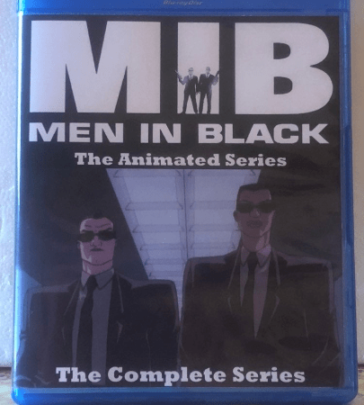 Men In Black The Animated Series 4 Seasons with 53 Episodes on 3 Blu-ray Discs