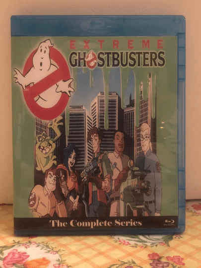 Extreme Ghostbusters Complete Series 2 disc Blu-ray set with all 40 episodes