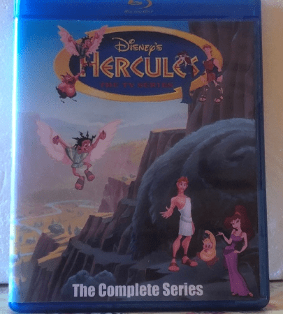 Disney's Hercules The Animated Series The Complete Series 2 Seasons with 65 Episodes on 4 Blu-ray Discs in 720p HD