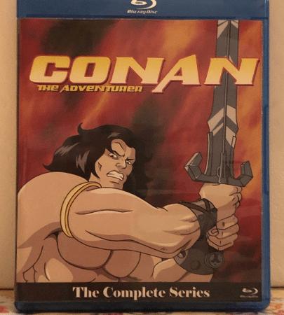 Conan the Adventurer Complete Series on 3 Blu-ray Discs 65 Episode Set