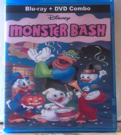 Disney's Monster Bash on Blu-ray DVD Combo Set