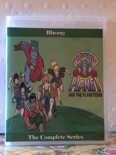 Captain Planet and the Planeteers the Complete Series 6 Seasons with 113 Episodes on 5 Blu-ray Discs
