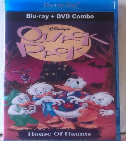 Disney's Quack Pack House Of Haunts on Blu-ray DVD Combo Set