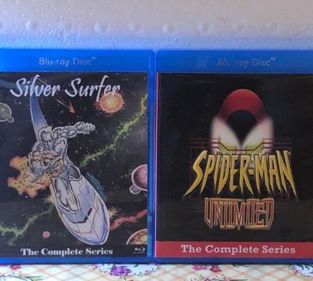 Silver Surfer Animated Series and Spider-Man Unlimited Animated Series Complete Series on Blu-ray 2 Disc Set