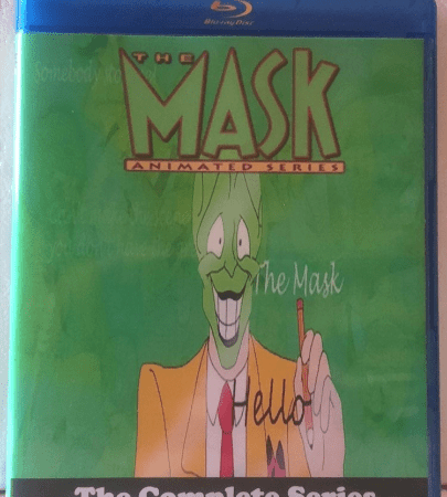 The Mask Animated Series The Complete Series 3 Seasons with 54 Episodes on 3 Blu-ray Discs