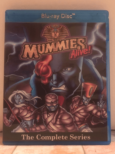 Mummies Alive The Complete Series 42 Episode Set on 2 Blu-ray Discs