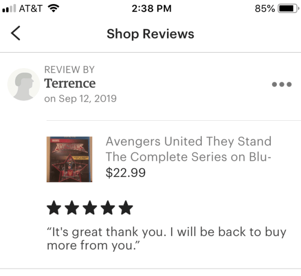 Avengers United They Stand The Complete Series on Blu-ray