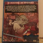 Star Wars Clone Wars (2003) The Complete Series 3 Seasons with 25 Episodes on Blu-ray in 1080p HD and DD 5.1 Surround Sound