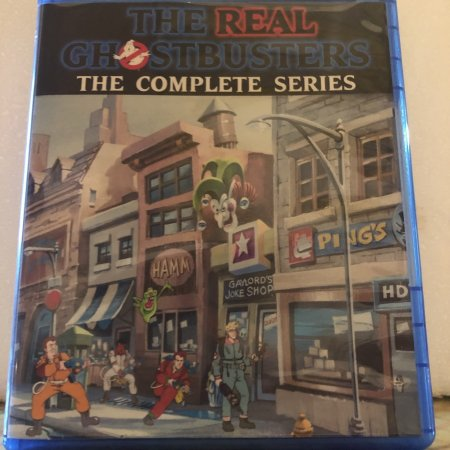 The Real Ghostbusters The Complete Series 7 Seasons with 173 Episode plus Cartoon All-Stars to the Rescue on 10 Blu-ray Discs in 720p HD